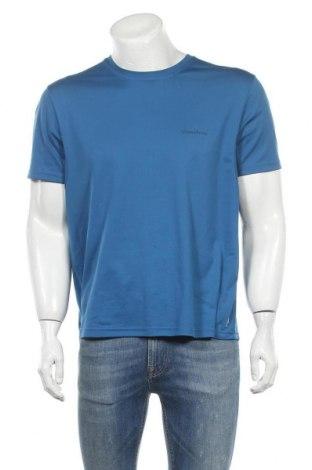 Ανδρικό t-shirt Quechua, Μέγεθος XL, Χρώμα Μπλέ, 75% πολυαμίδη, 25% ελαστάνη, Τιμή 7,73€