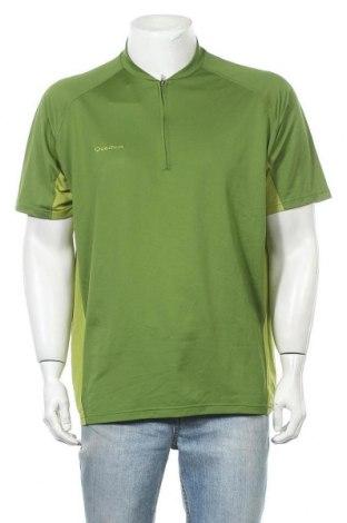 Ανδρικό t-shirt Quechua, Μέγεθος XXL, Χρώμα Πράσινο, Πολυεστέρας, Τιμή 9,35€