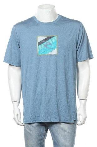 Мъжка тениска Rip Curl, Размер XL, Цвят Син, 90% полиестер, 10% еластан, Цена 19,95лв.