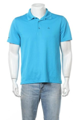 Ανδρικό t-shirt Schoffel, Μέγεθος L, Χρώμα Μπλέ, Τιμή 12,28€