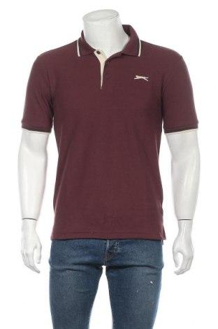 Мъжка тениска Slazenger, Размер S, Цвят Лилав, 65% полиестер, 35% памук, Цена 16,77лв.