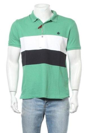 Мъжка тениска Springfield, Размер L, Цвят Зелен, Памук, Цена 25,50лв.