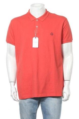 Мъжка тениска Springfield, Размер XXL, Цвят Червен, Памук, Цена 25,50лв.