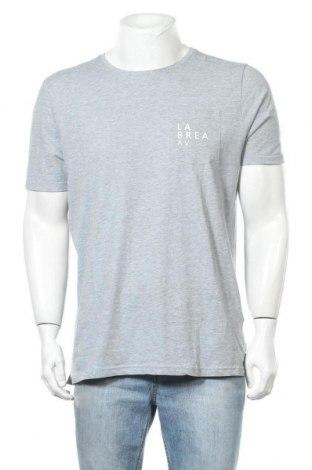 Мъжка тениска Springfield, Размер L, Цвят Сив, 90% памук, 10% вискоза, Цена 25,50лв.