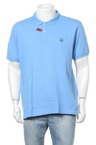 Мъжка тениска Springfield, Размер XXL, Цвят Син, Памук, Цена 18,00лв.