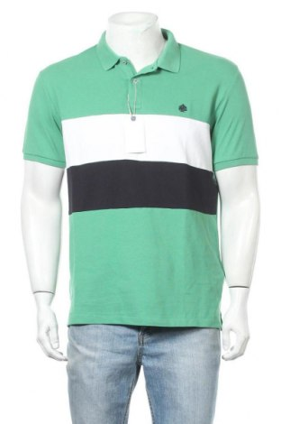 Мъжка тениска Springfield, Размер XL, Цвят Зелен, Памук, Цена 25,50лв.