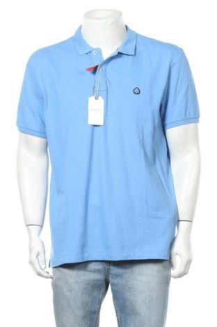 Мъжка тениска Springfield, Размер XXL, Цвят Син, Памук, Цена 25,50лв.