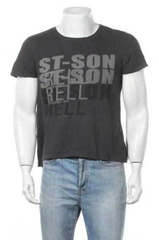 Ανδρικό t-shirt Strellson, Μέγεθος S, Χρώμα Γκρί, 100% βαμβάκι, Τιμή 14,55€