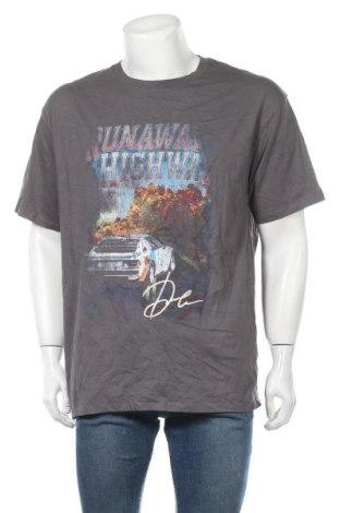 Мъжка тениска Supre, Размер M, Цвят Сив, Памук, Цена 8,93лв.