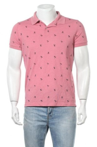 Ανδρικό t-shirt Terranova, Μέγεθος M, Χρώμα Ρόζ , Τιμή 9,74€