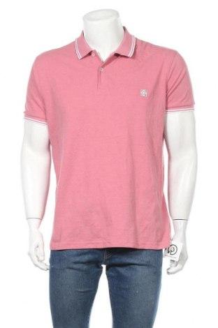 Ανδρικό t-shirt Terranova, Μέγεθος XXL, Χρώμα Ρόζ , 60% βαμβάκι, 40% πολυεστέρας, Τιμή 11,04€