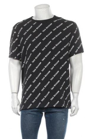 Мъжка тениска True Religion, Размер XXL, Цвят Черен, Памук, Цена 74,25лв.