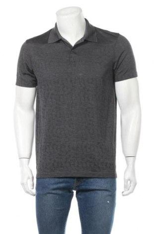 Мъжка тениска Uniqlo, Размер L, Цвят Сив, Цена 11,81лв.