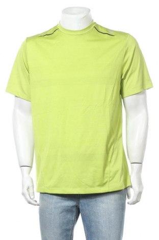 Ανδρικό t-shirt Wilson, Μέγεθος L, Χρώμα Πράσινο, Πολυεστέρας, Τιμή 6,62€