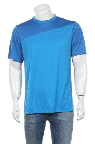 Мъжка тениска Wilson, Размер L, Цвят Син, Полиестер, Цена 9,45лв.