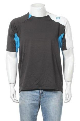 Ανδρικό t-shirt Wilson, Μέγεθος L, Χρώμα Μαύρο, 92% πολυεστέρας, 8% πολυουρεθάνης, Τιμή 7,60€