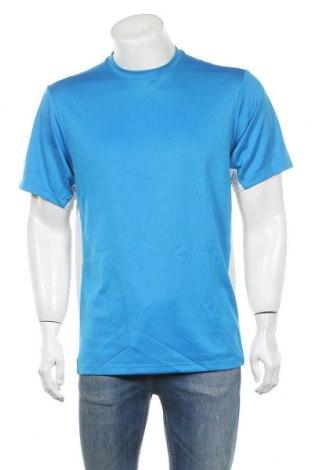 Ανδρικό t-shirt Wilson, Μέγεθος L, Χρώμα Μπλέ, Πολυεστέρας, Τιμή 7,18€