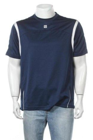 Ανδρικό t-shirt Wilson, Μέγεθος XL, Χρώμα Μπλέ, Πολυεστέρας, Τιμή 9,35€