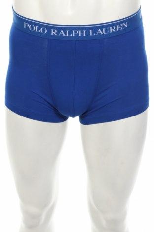 Мъжки боксерки Polo By Ralph Lauren, Размер S, Цвят Син, 95% памук, 5% еластан, Цена 23,60лв.