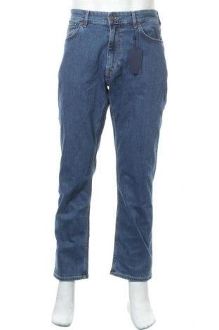 Мъжки дънки Gant, Размер L, Цвят Син, 98% памук, 2% еластан, Цена 71,82лв.