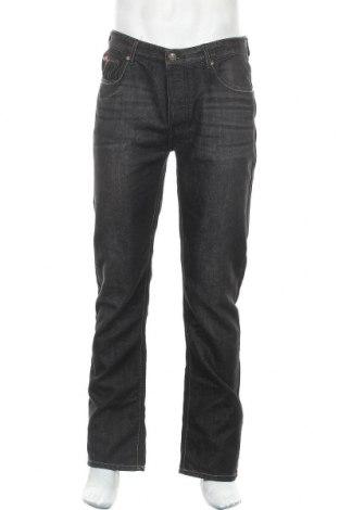 Мъжки дънки Lee Cooper, Размер M, Цвят Черен, 60% памук, 40% полиестер, Цена 25,08лв.