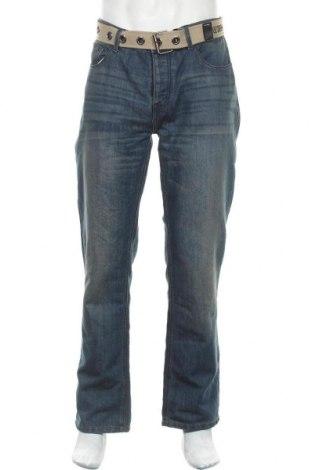 Мъжки дънки Lee Cooper, Размер L, Цвят Син, 60% памук, 40% полиестер, Цена 30,02лв.