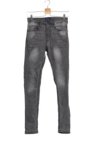 Мъжки дънки Zara Man, Размер XS, Цвят Сив, Цена 15,48лв.