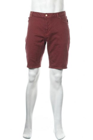 Pánské kraťasy ASOS, Velikost L, Barva Červená, 98% bavlna, 2% elastan, Cena  364,00Kč