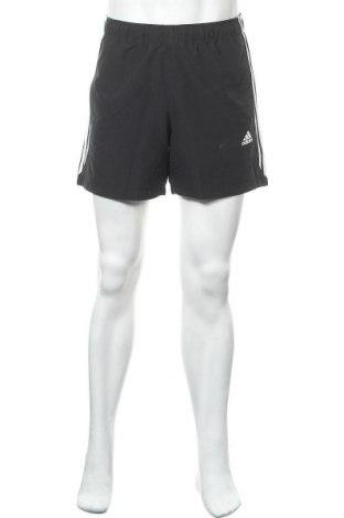 Ανδρικό κοντό παντελόνι Adidas, Μέγεθος M, Χρώμα Μαύρο, Τιμή 18,70€