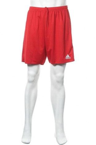Ανδρικό κοντό παντελόνι Adidas, Μέγεθος XL, Χρώμα Κόκκινο, Πολυεστέρας, Τιμή 16,96€