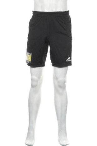 Ανδρικό κοντό παντελόνι Adidas, Μέγεθος S, Χρώμα Μαύρο, Πολυεστέρας, Τιμή 21,04€