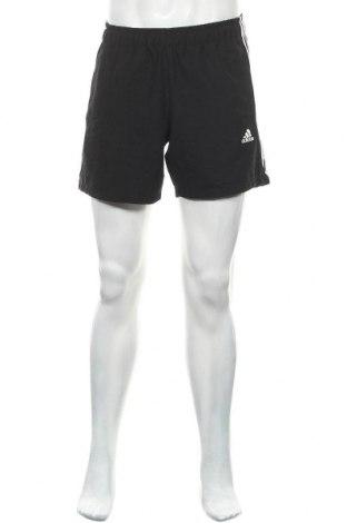 Ανδρικό κοντό παντελόνι Adidas, Μέγεθος M, Χρώμα Μαύρο, Πολυεστέρας, Τιμή 13,45€