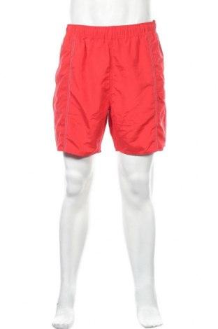 Мъжки къс панталон Atlas For Men, Размер XL, Цвят Червен, Полиестер, Цена 12,60лв.