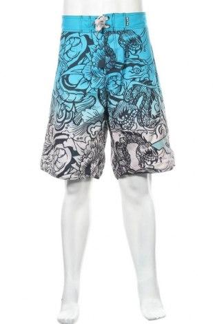 Мъжки къс панталон Bad Boy, Размер L, Цвят Син, Полиестер, Цена 15,12лв.