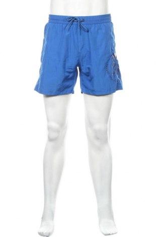 Ανδρικό κοντό παντελόνι Diesel, Μέγεθος L, Χρώμα Μπλέ, Πολυεστέρας, Τιμή 20,98€