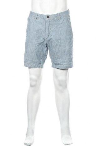 Ανδρικό κοντό παντελόνι H&M L.O.G.G., Μέγεθος M, Χρώμα Μπλέ, Βαμβάκι, Τιμή 10,52€