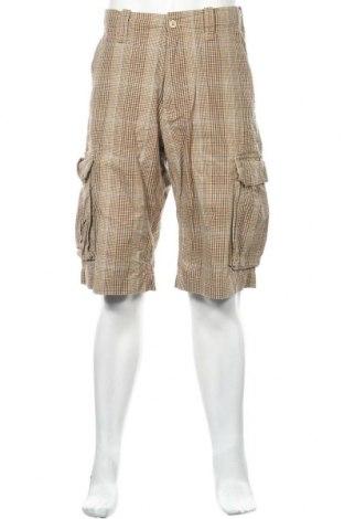Ανδρικό κοντό παντελόνι H&M L.O.G.G., Μέγεθος M, Χρώμα Πολύχρωμο, Βαμβάκι, Τιμή 12,34€