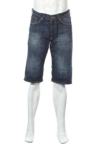 Ανδρικό κοντό παντελόνι H&M L.O.G.G., Μέγεθος M, Χρώμα Μπλέ, Βαμβάκι, Τιμή 10,49€