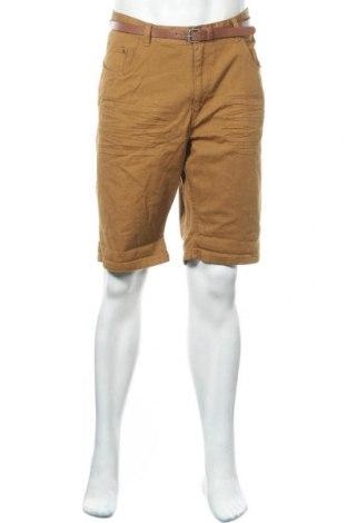 Ανδρικό κοντό παντελόνι Identic, Μέγεθος XL, Χρώμα Καφέ, Βαμβάκι, Τιμή 23,38€