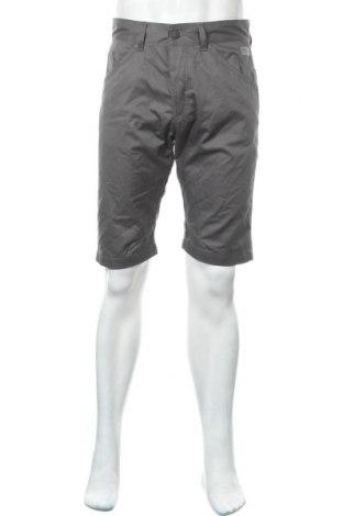 Ανδρικό κοντό παντελόνι Jack & Jones, Μέγεθος M, Χρώμα Γκρί, 65% πολυεστέρας, 35% βαμβάκι, Τιμή 18,95€