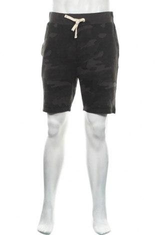 Ανδρικό κοντό παντελόνι Jack & Jones, Μέγεθος L, Χρώμα Γκρί, 51% βαμβάκι, 49% πολυεστέρας, Τιμή 18,95€