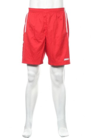 Ανδρικό κοντό παντελόνι Jako, Μέγεθος L, Χρώμα Κόκκινο, Πολυεστέρας, Τιμή 12,34€