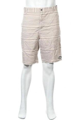 Ανδρικό κοντό παντελόνι Mambo, Μέγεθος XL, Χρώμα  Μπέζ, Πολυεστέρας, Τιμή 12,34€