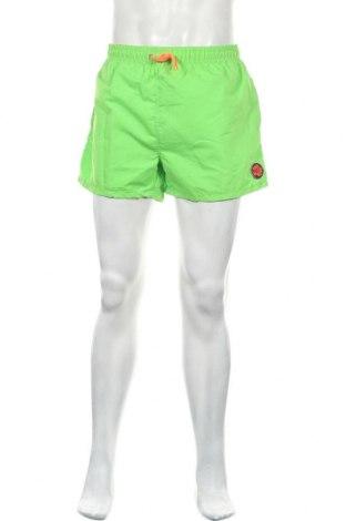 Ανδρικό κοντό παντελόνι Okay, Μέγεθος L, Χρώμα Πράσινο, Πολυεστέρας, Τιμή 14,29€