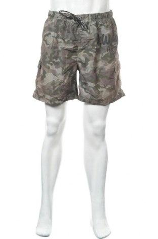 Ανδρικό κοντό παντελόνι Okay, Μέγεθος XL, Χρώμα Πολύχρωμο, Πολυεστέρας, Τιμή 9,25€