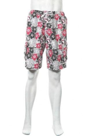 Ανδρικό κοντό παντελόνι Okay, Μέγεθος L, Χρώμα Πολύχρωμο, Πολυεστέρας, Τιμή 10,39€