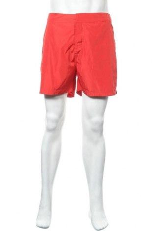 Мъжки къс панталон Pierre Cardin, Размер XL, Цвят Червен, Полиестер, Цена 49,77лв.