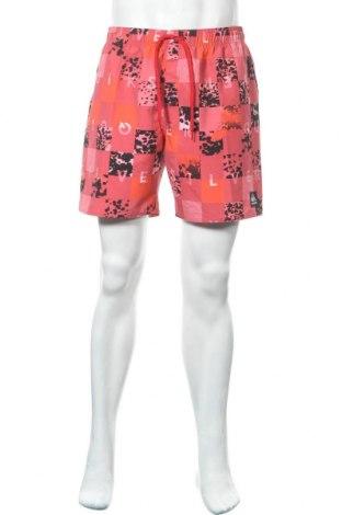 Ανδρικό κοντό παντελόνι Quiksilver, Μέγεθος L, Χρώμα Κόκκινο, Πολυεστέρας, Τιμή 26,70€