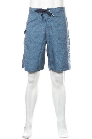 Ανδρικό κοντό παντελόνι Rip Curl, Μέγεθος L, Χρώμα Μπλέ, Πολυεστέρας, Τιμή 11,69€