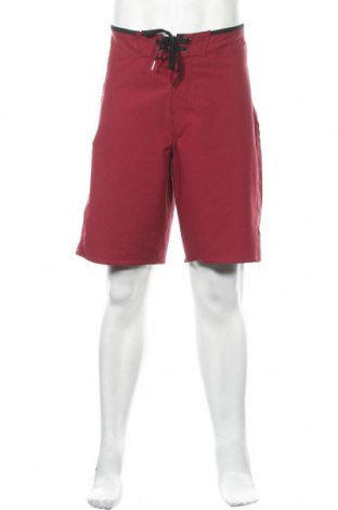 Мъжки къс панталон Rip Curl, Размер L, Цвят Червен, 92% полиестер, 8% еластан, Цена 22,05лв.